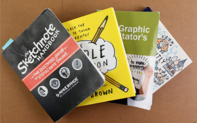 Our Three Favorite Books for Beginning Graphic Recorders