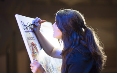 Your Company Meeting Needs a Live Artist (4 Reasons Why)