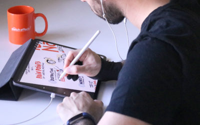 The Definitive Guide to Virtual Live Sketching for Meetings & Events