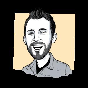 Animated headshot of Sketch Effect team member Alejo Porras