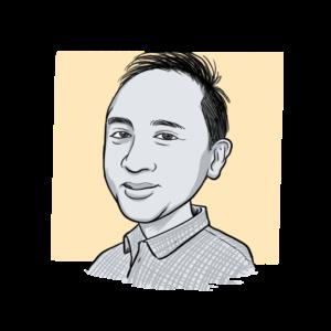 Animated headshot of Len Peralta