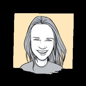 Animated headshot of Sketch Effect team member Nichole Mace