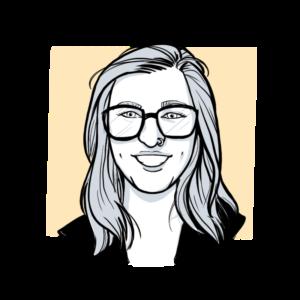 Animated headshot of Sketch Effect team member Sammie Fairbanks
